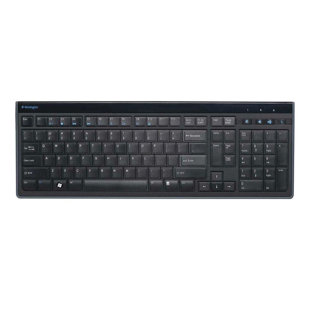 Kensington Slimtype Keyboard Black - K72357UK