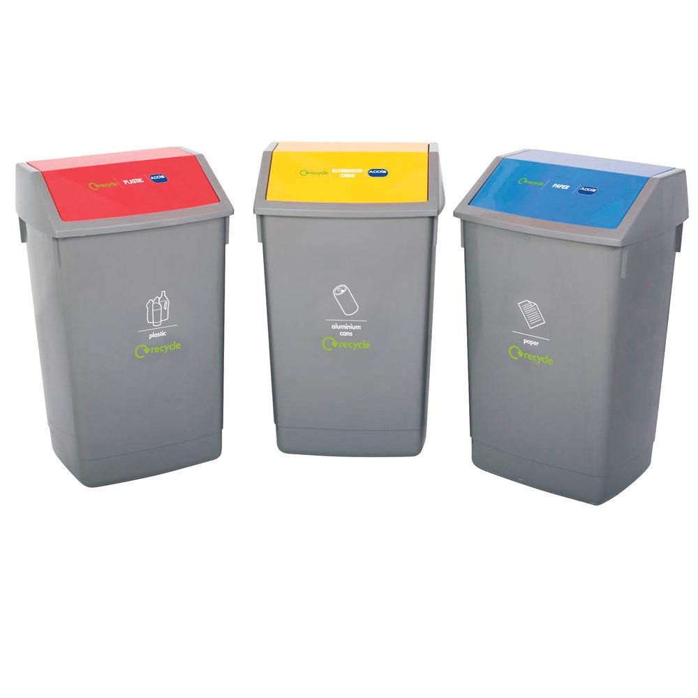 Addis Recycling Bin Kit (Pack of 3) 505575/505574