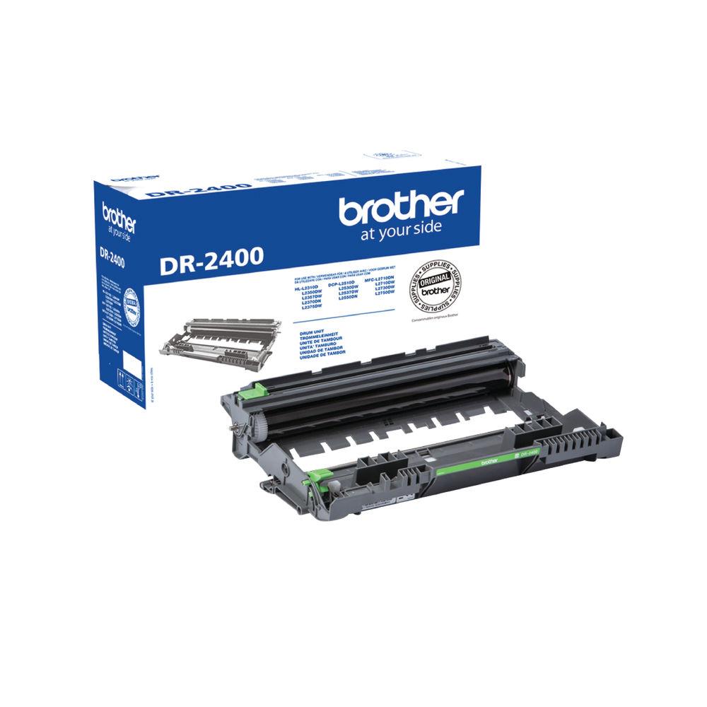 Brother DR2400 Black Drum Unit - DR2400
