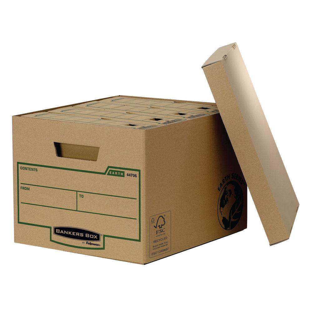 Fellowes R-Kive Storage Box, W325x D375x H260mm, Pack of 10 - 00900