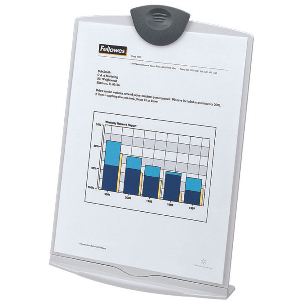 Fellowes Workstation Copyholder Stand - 20000