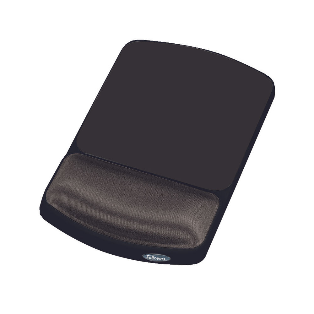 Fellowes Premium Gel Mouse Pad/Wrist Support - BB58910