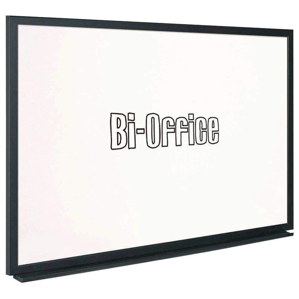 Bi-Office Black Frame Whiteboard 900x600mm MB0700169
