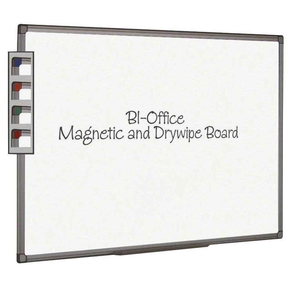 Bi-Office Magnetic Dry Wipe Whiteboard - MB0406186