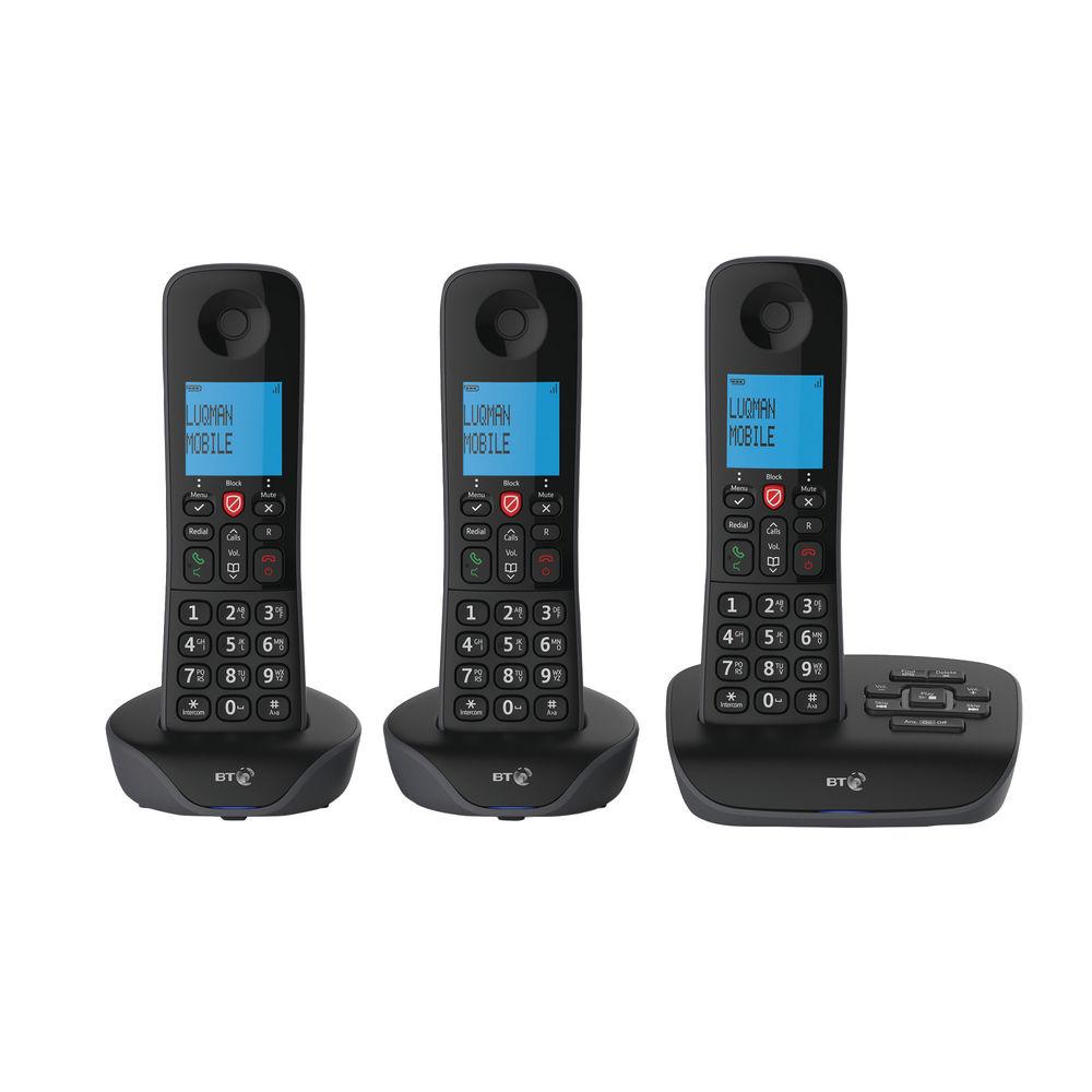 BT Essential DECT TAM Phone Trio 90659