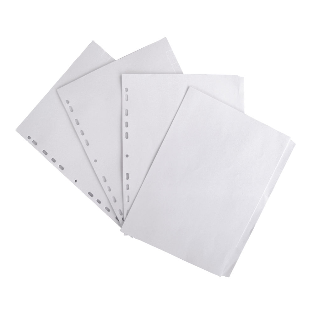 Elba A4 White, Plain Tabs, 5 Part Index Dividers 160gsm,  - 100204880
