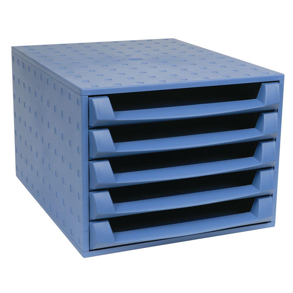 Forever Blue 5-Drawer Set (W284 x D387 x H218mm) 221101D