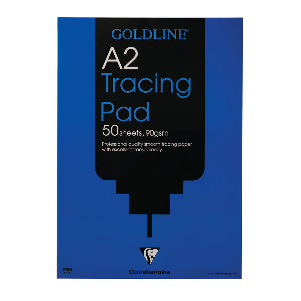 Clairefontaine Goldline A2 90gsm Tracing Pad - GPT1A2