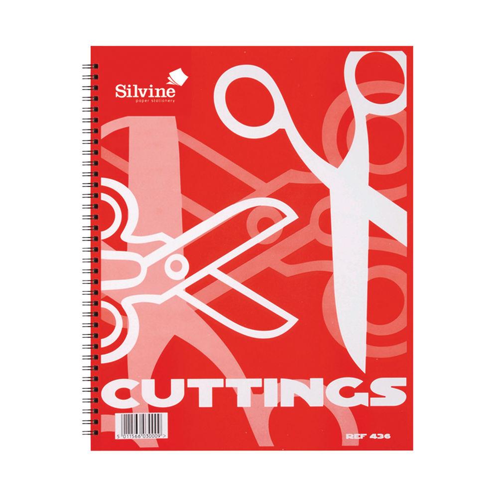 Silvine Twin Wire Scrap Book (Pack of 12) 436