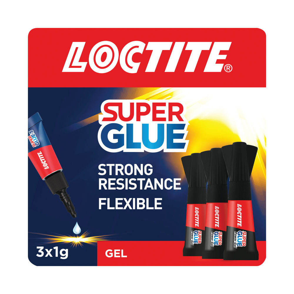 Loctite Super Glue Mini Trio Power Gel 3x1g 2642101