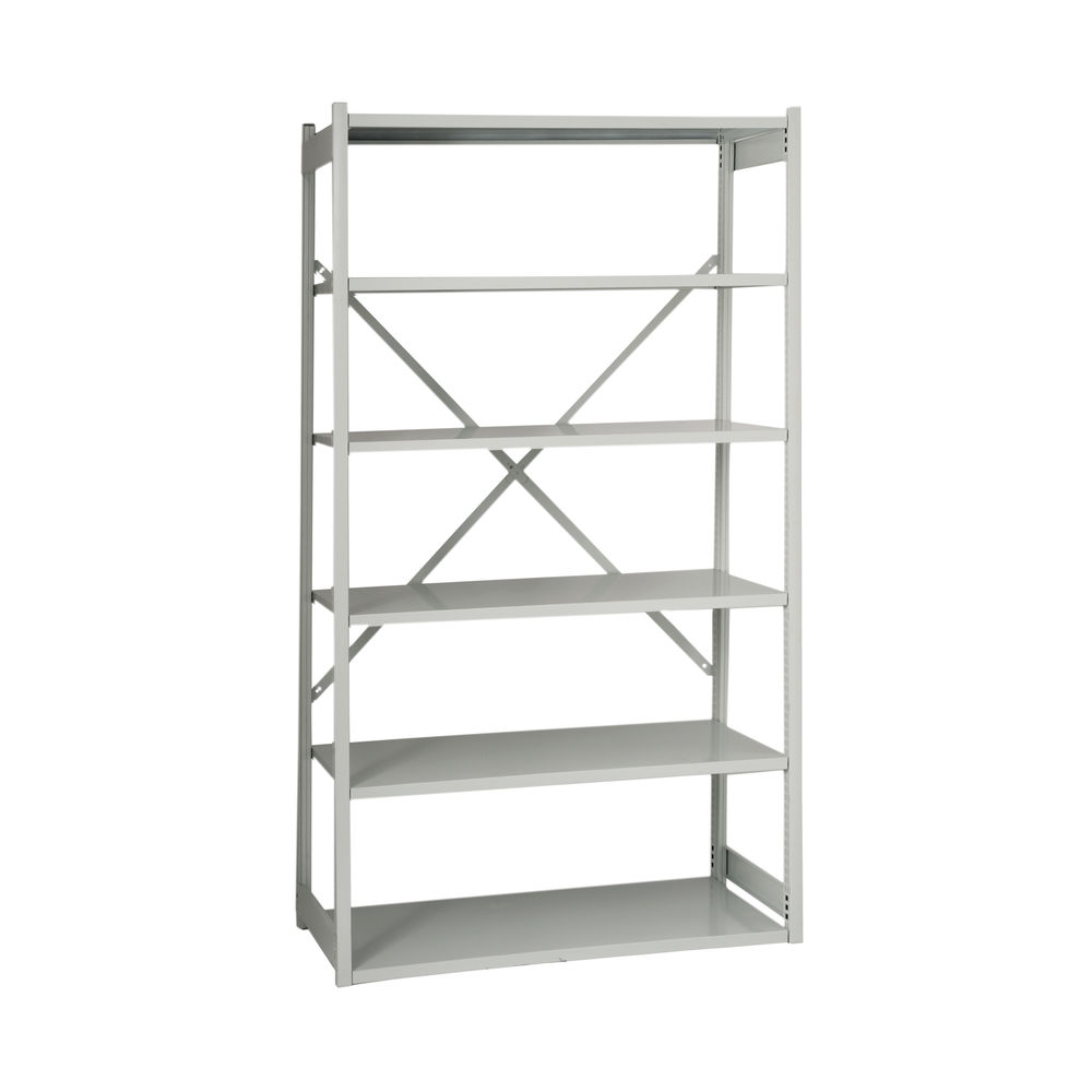 Bisley 1000 x 460mm Grey Shelving Extension Kit - BY838033