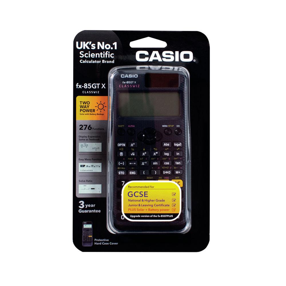Casio FX-85GTX Black Scientific Calculator | FX-85GTX