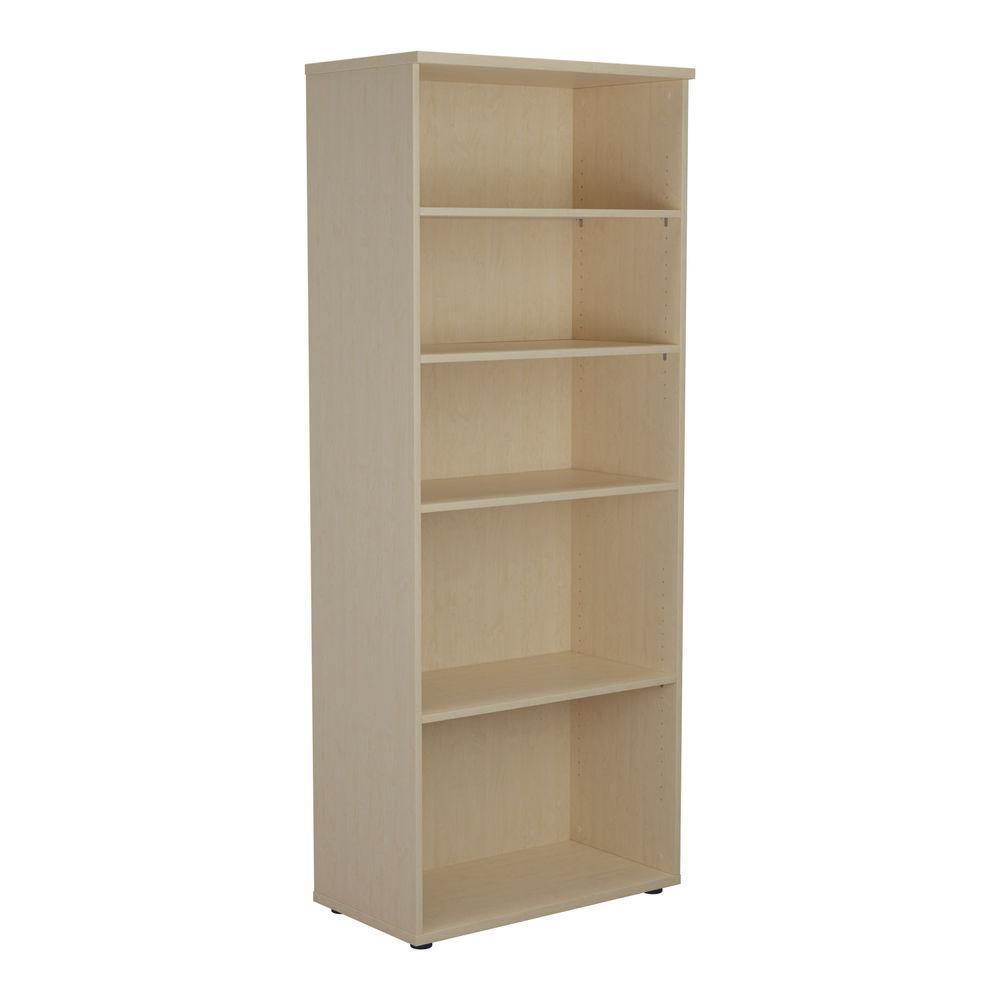 Jemini 2000 x 450mm Maple Wooden Bookcase