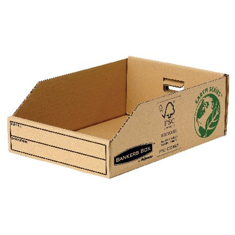 Bankers Box 200mm Earth Series Parts Bins, Pack of 50 - 7355