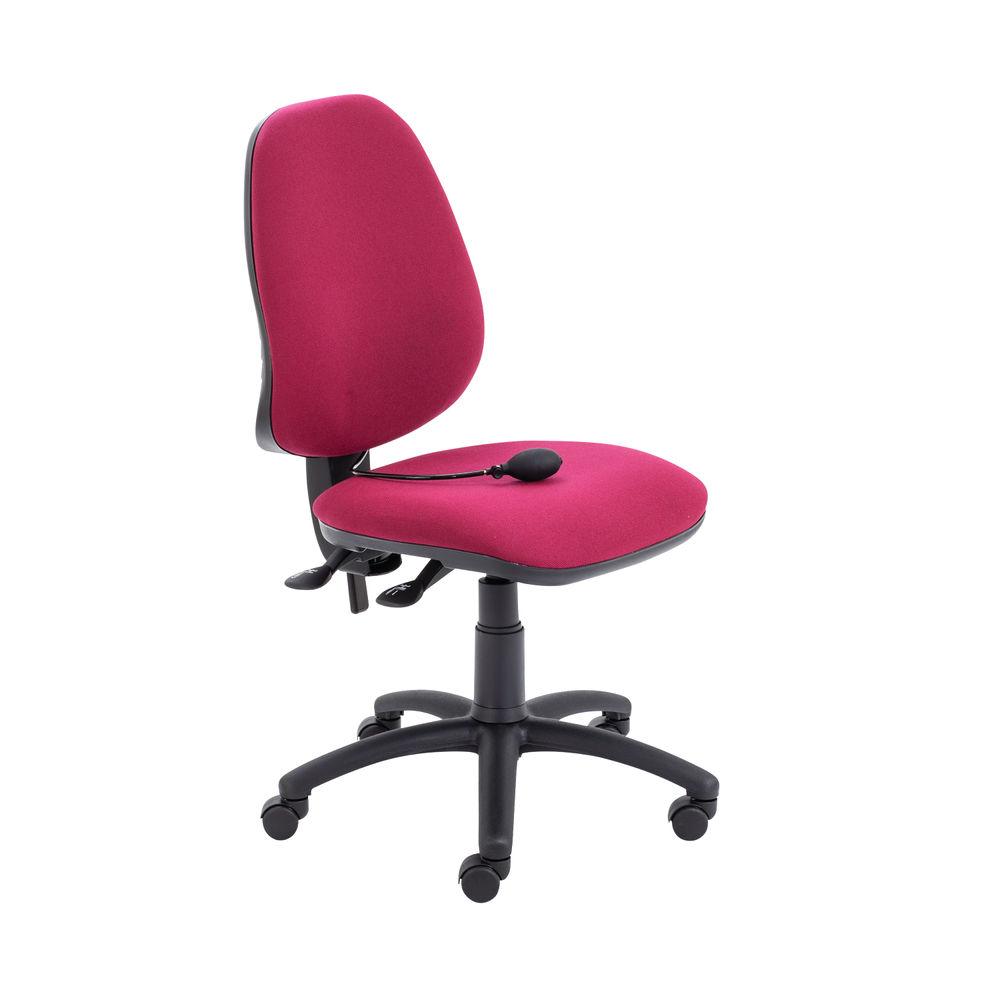 Jemini Intro Claret Posture Chair