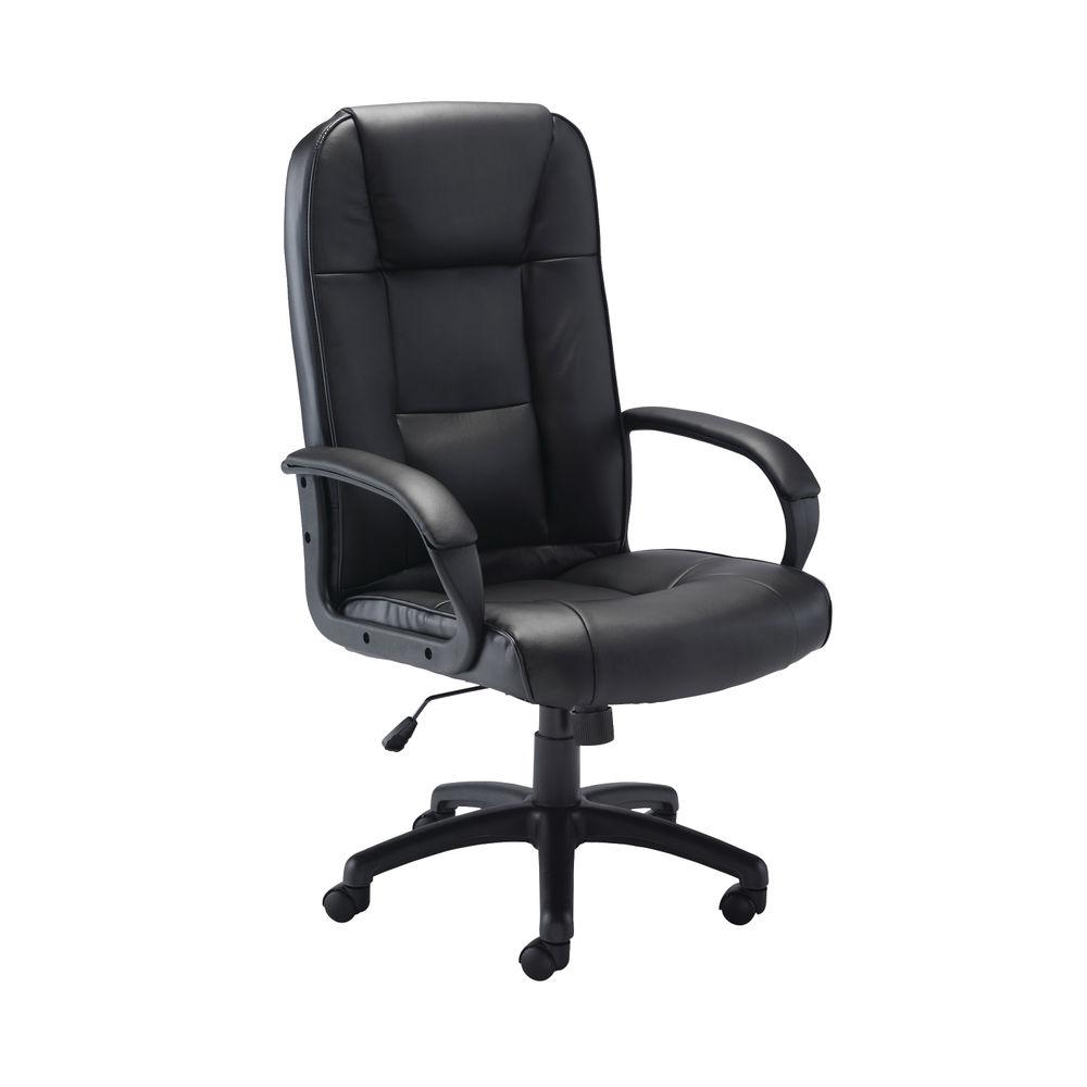 Jemini Caspian Leather Look Office Chair