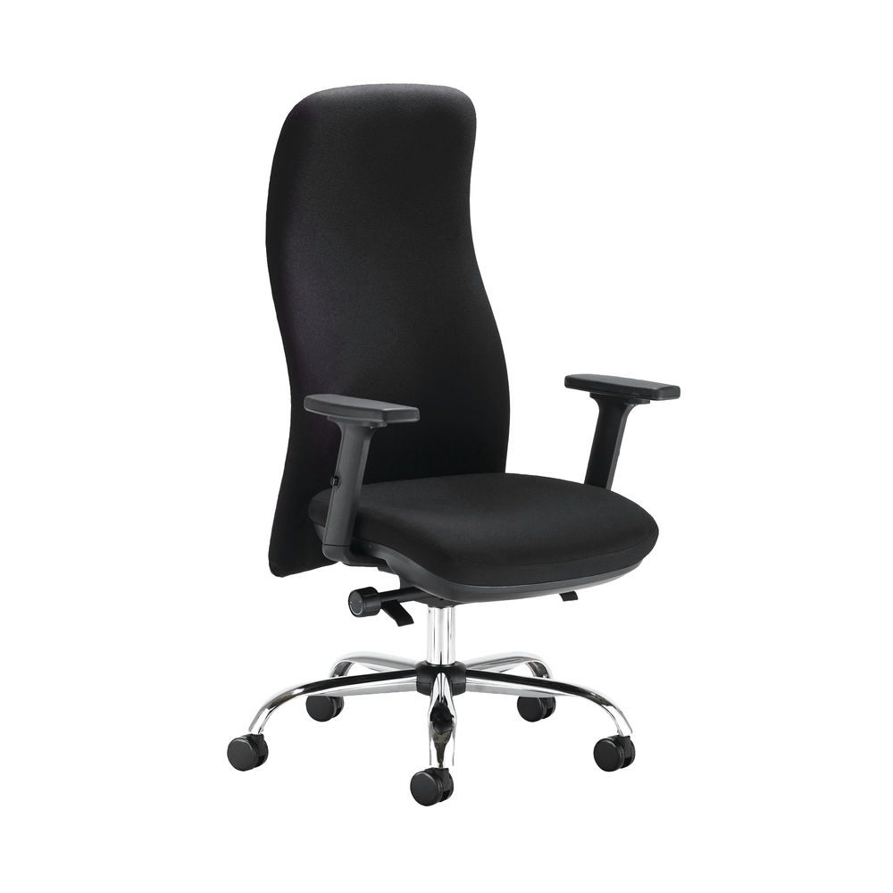 Capella Tempest Posture Office Chair With 2D Arms in Black