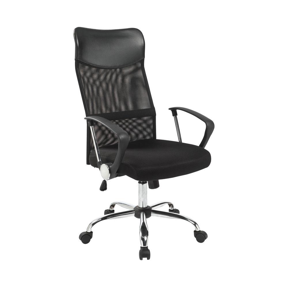 Jemini High Back Nimbus Mesh Chair Black KF90896