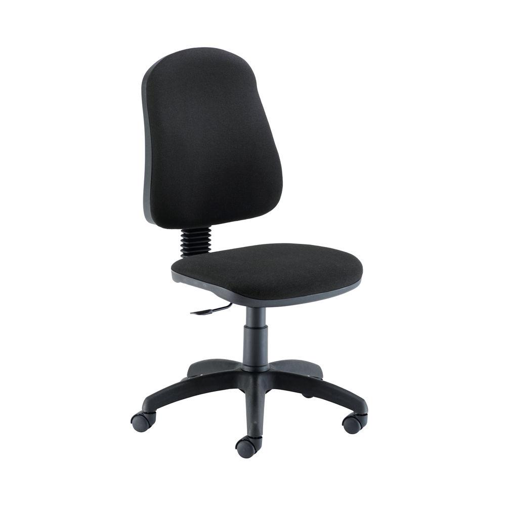 Jemini Teme Mid Back Single Lever Black Office Chair