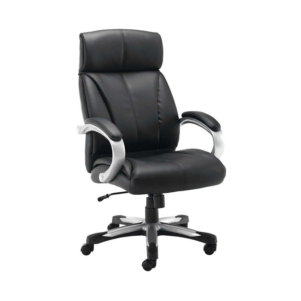 Jemini Chad Heavy Duty Leather Chair