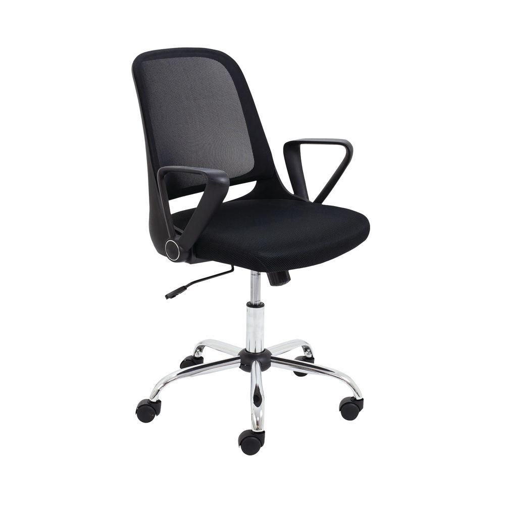Jemini Billow Mesh Task Chair in Black