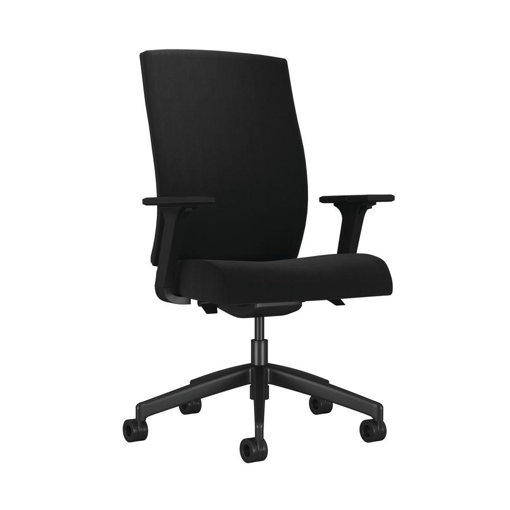 Arista Clover Black Office Chair