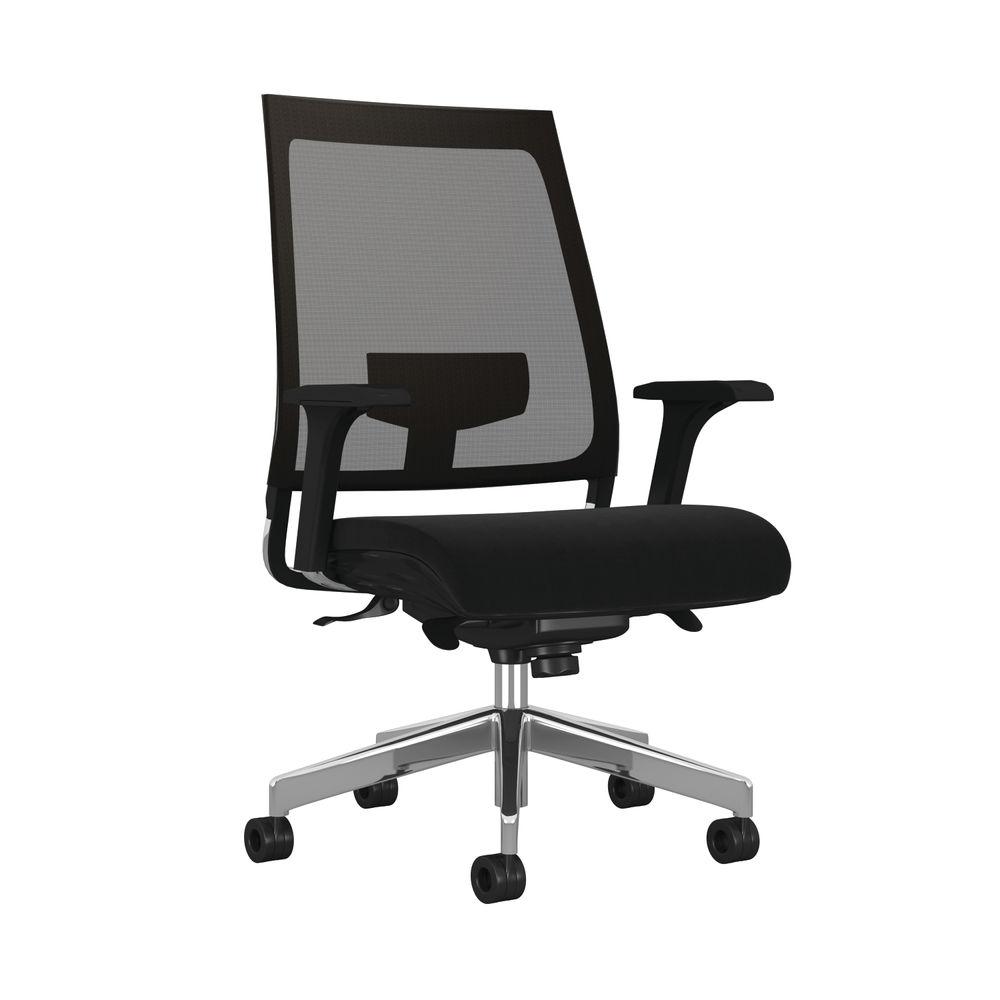 Arista Aster Black Mesh Office Chair