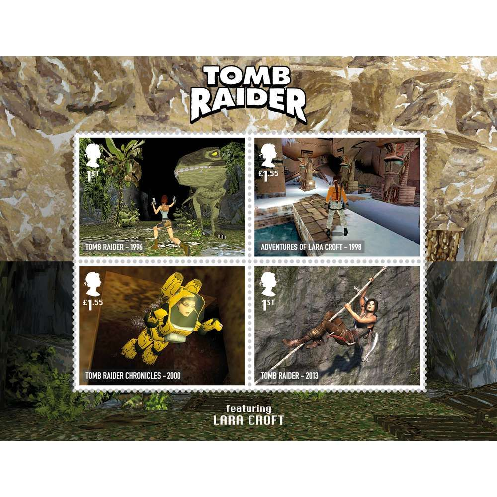 The Video Games Miniature Sheet