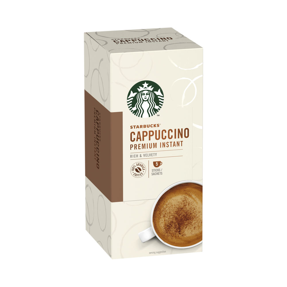 Starbucks Cappuccino Instant 70g 5 Sachets (Pack of 6) 12431776