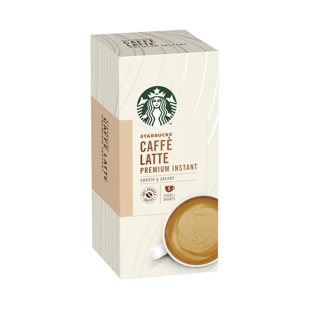 Starbucks Caffe Latte Instant 70g 5 Sachets (Pack of 6) 12431777