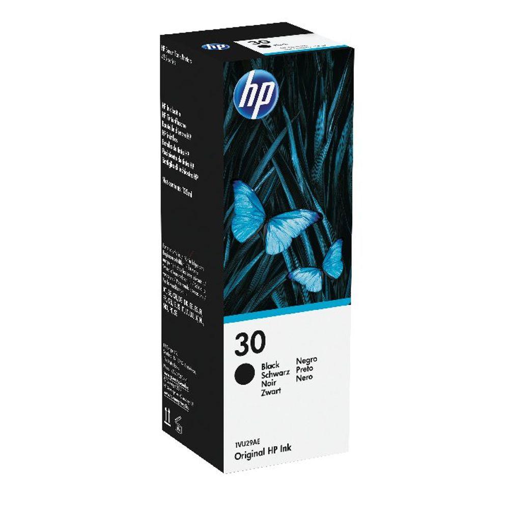 HP 30 Black Ink Bottle - 1VU29AE