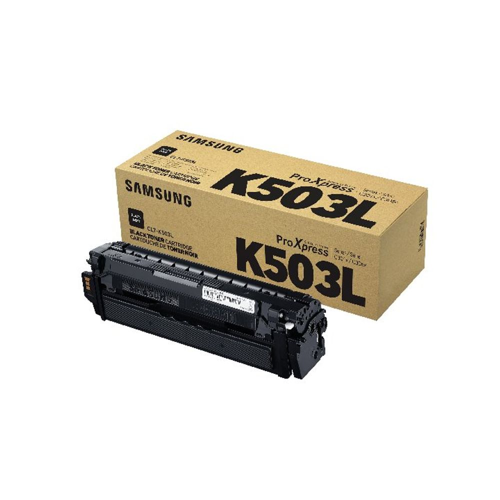 Samsung CLT-K503L High Yield Black Toner Cartridge SU147A