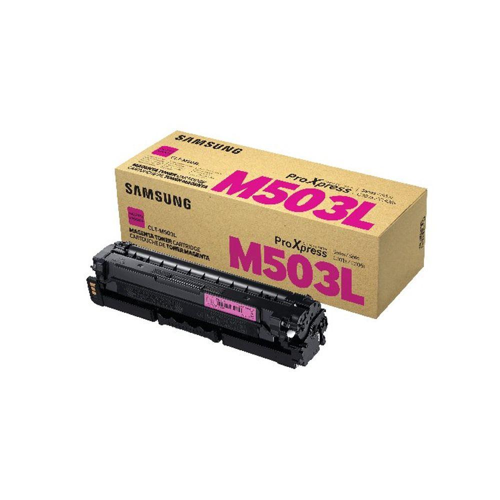 Samsung CLT-M503L High Yield Magenta Toner Cartridge SU281A