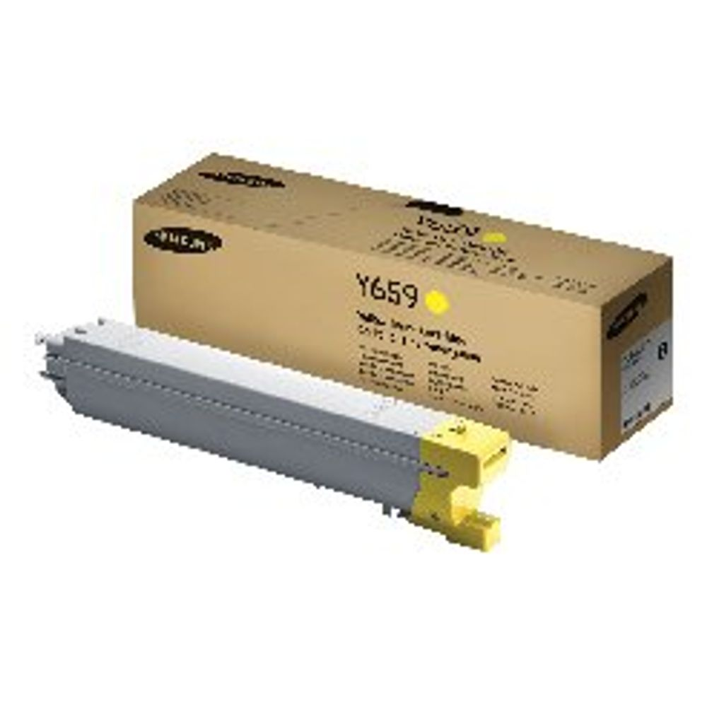 Samsung CLT-Y659S Yellow Toner Cartridge SU570A