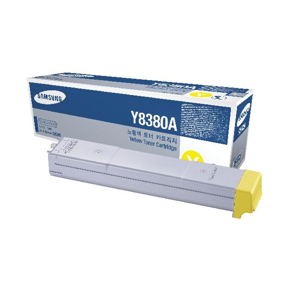 Samsung CLX-Y8380A Yellow Toner Cartridge SU627A