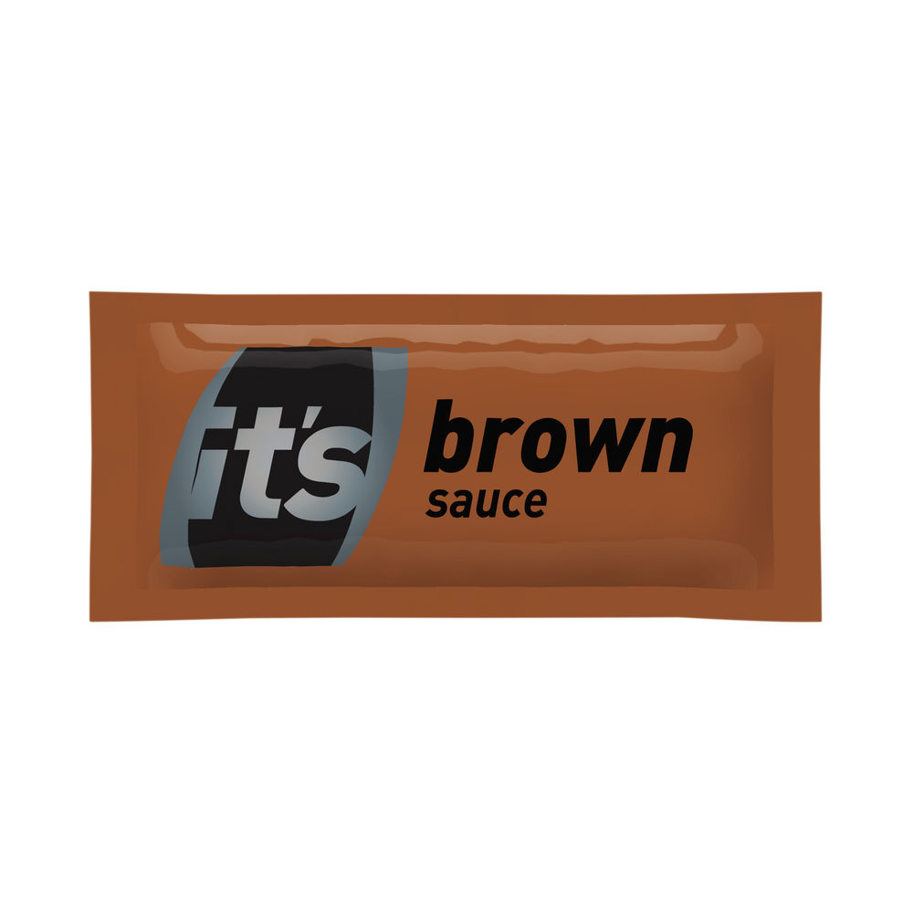 Its Brown Sauce Sachets (Pack of 200) 60121314
