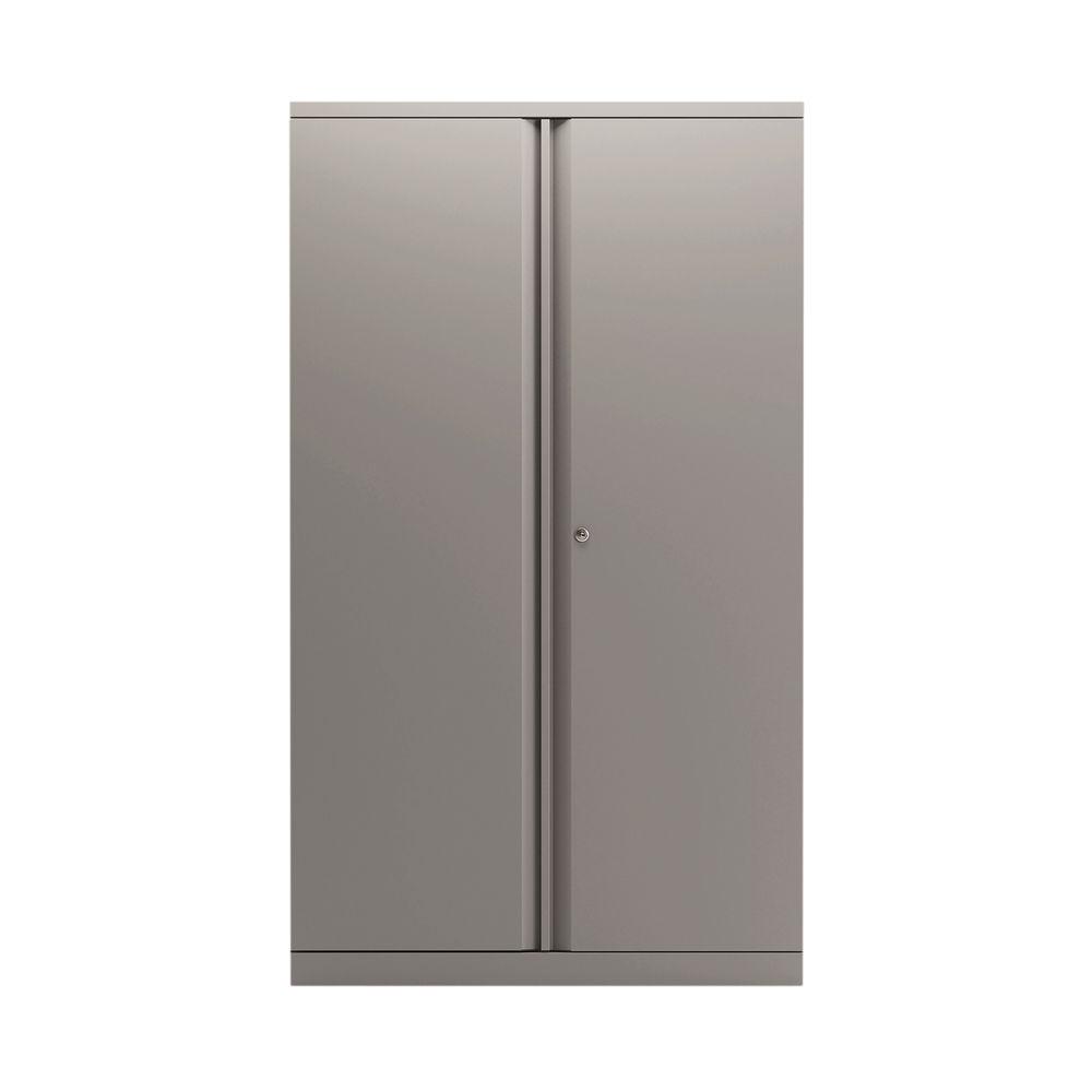 Bisley 1570mm Goose Grey 2 Door Empty Cupboard - BY78712