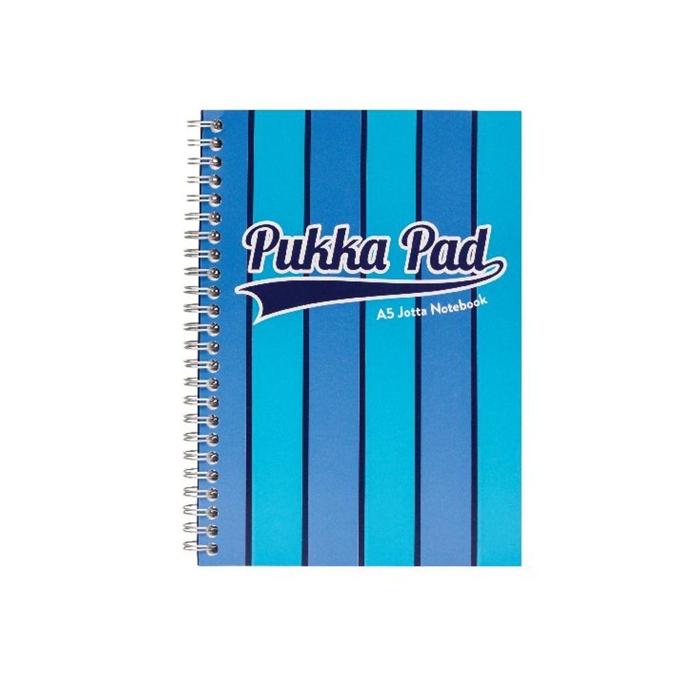 Pukka Pad Blue A3 Vogue Wirebound Jotta Pads, Pack of 3 - 8544-VOG