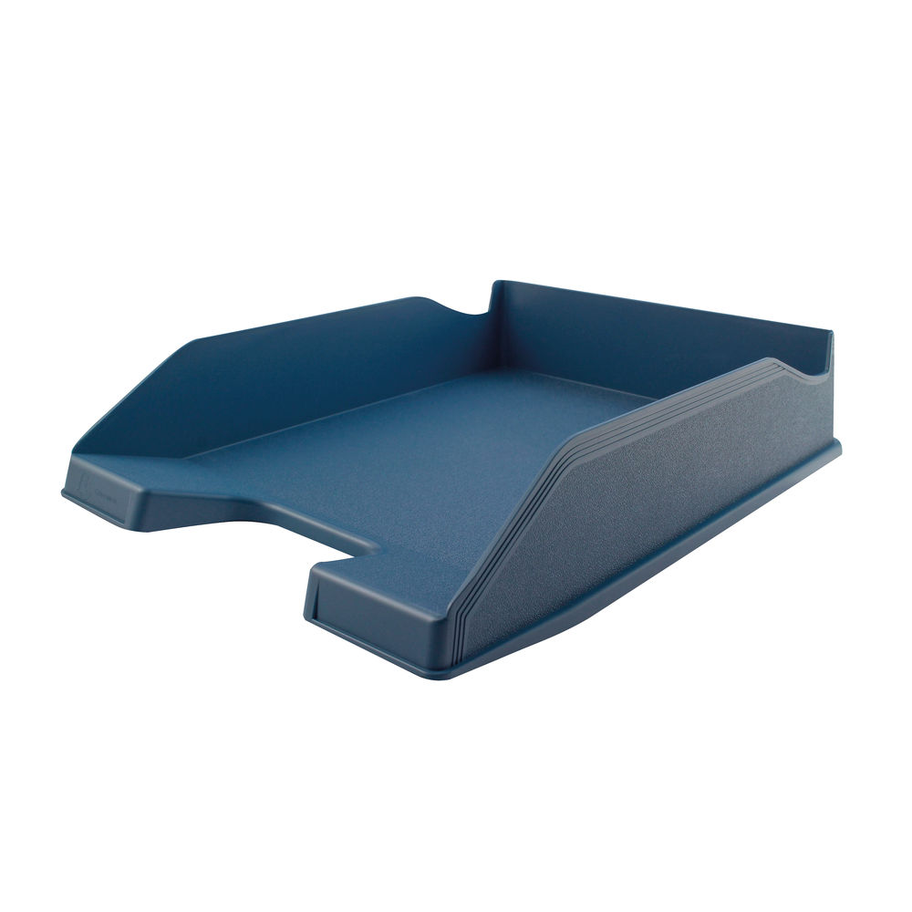 Forever A4/Foolscap Blue Letter Tray - 113101D