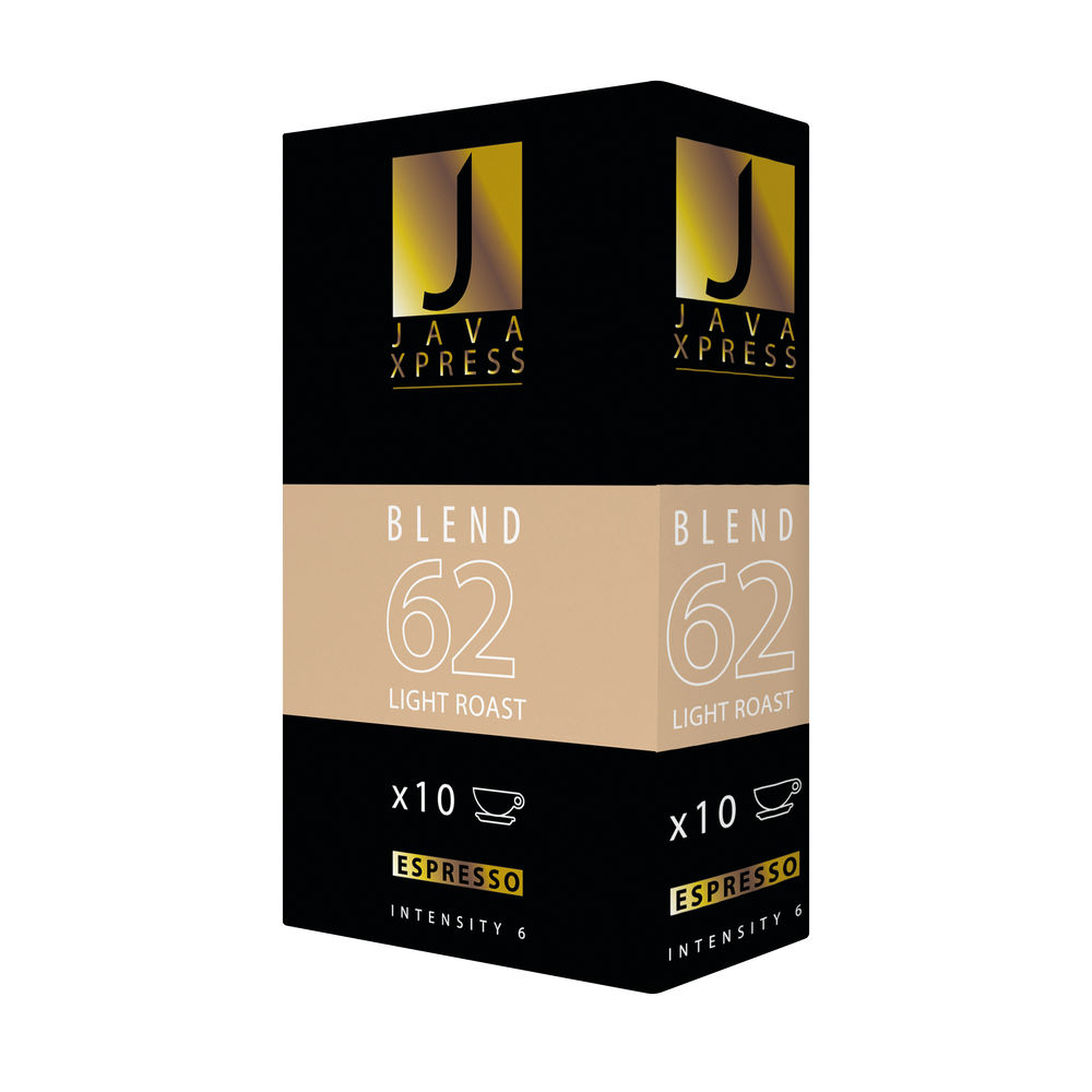 Nespresso Blend 62 Coffee Capsules, Pack of 100 | JX1062