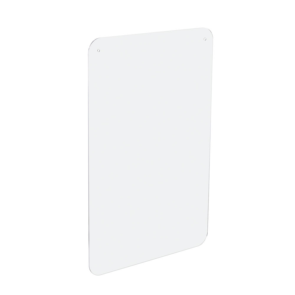 Exacompta Exascreen Sneeze Guard 100 x 66cm Suspended Cashier Protection - 80258D