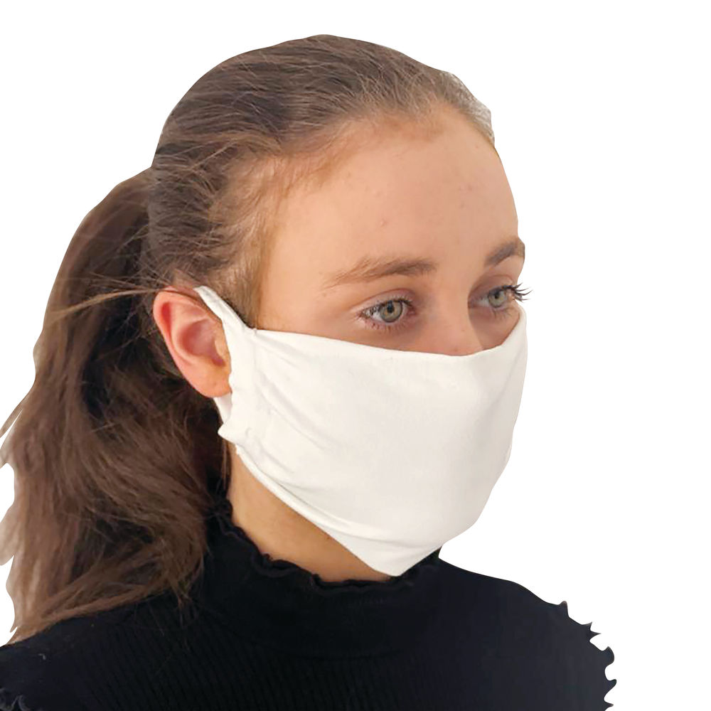 Exacompta Examask Protective Face Masks, Pack of 10 - 80558D
