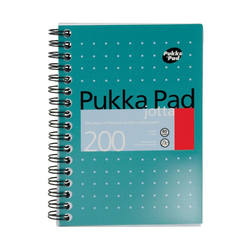 Pukka Pad A6 Metallic Ruled Jotta Notepads, Pack of 3 - JM036