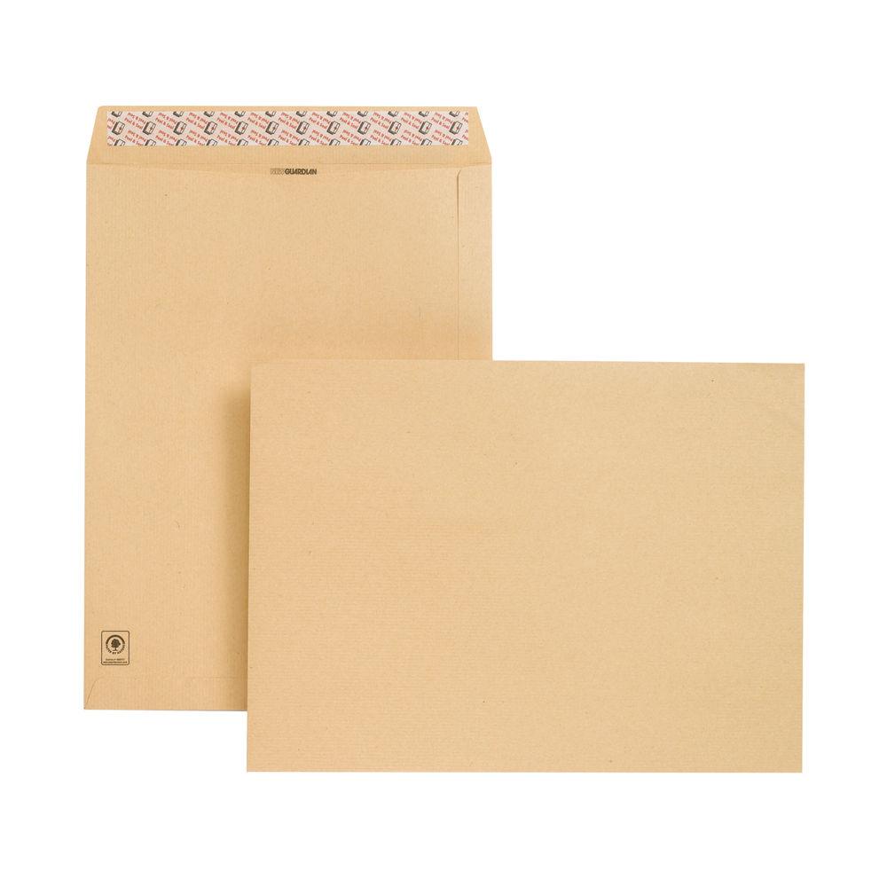 New Guardian Professional Manilla Peel and Seal Envelopes 130gsm (Pk125)  D23703