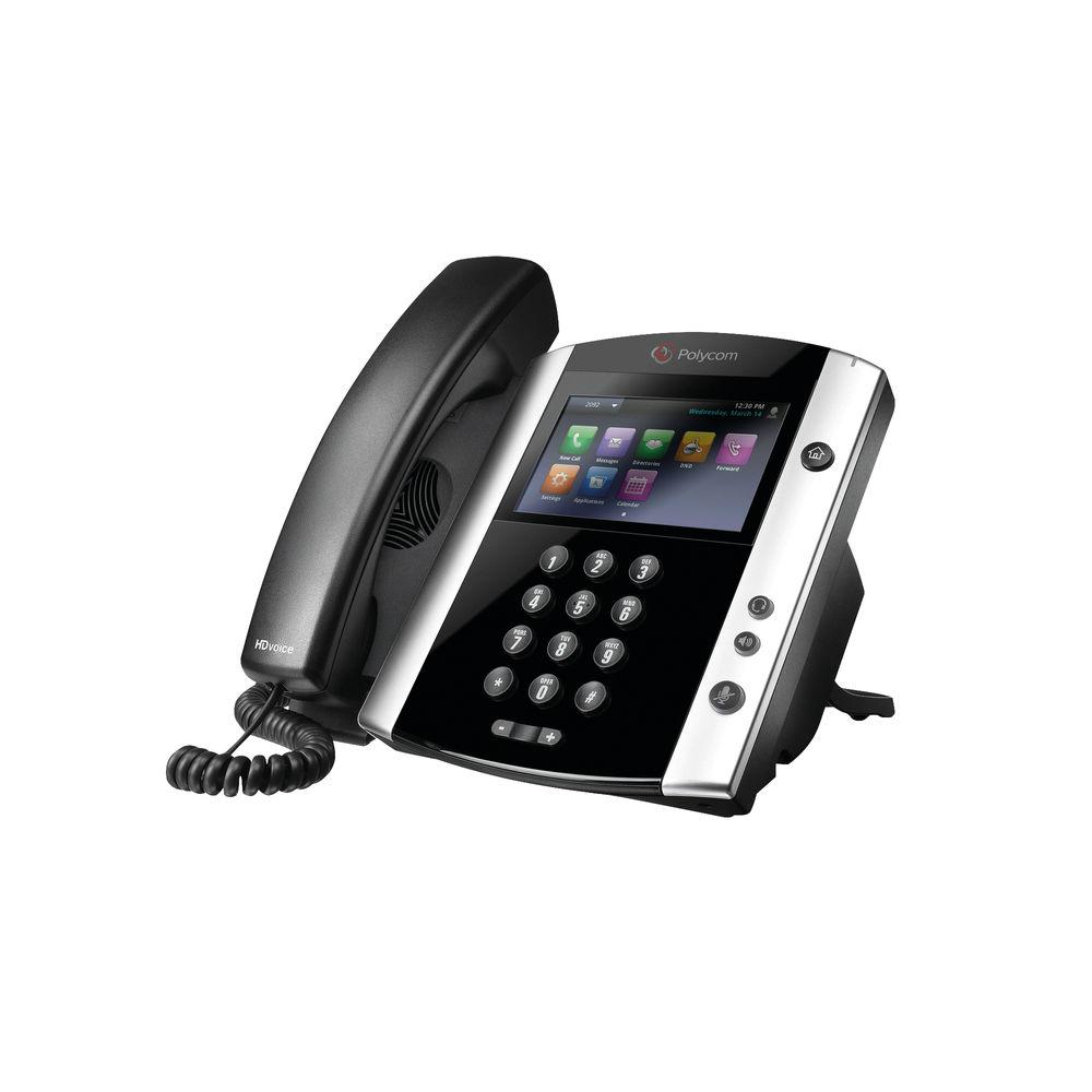 Polycom VVX 600 DECT Phone - 2200-44600-025