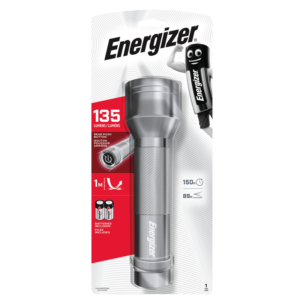 Energizer 2D LED Metal Torch - 639807