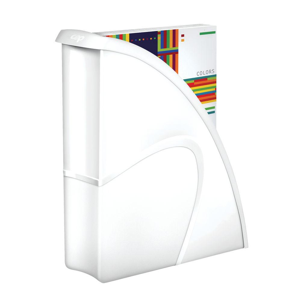 CepPro Gloss White Magazine Rack - 674G WHITE