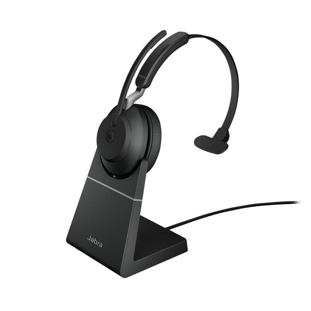 Jabra Evolve2 65 Link380A MS Mono Stand Black 26599-899-989