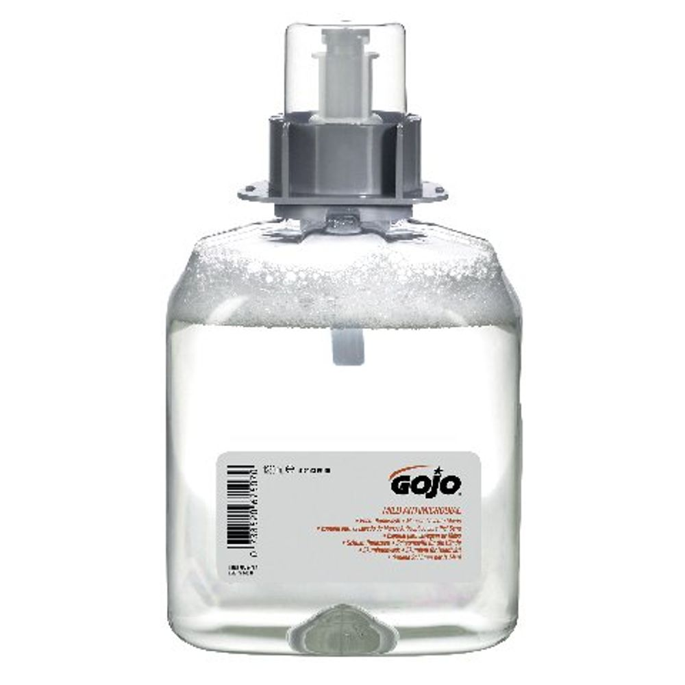 Gojo Mild Antimicrobial Foam Handwash Refill 1250ml (Pack of 3) 5179-3-EEU