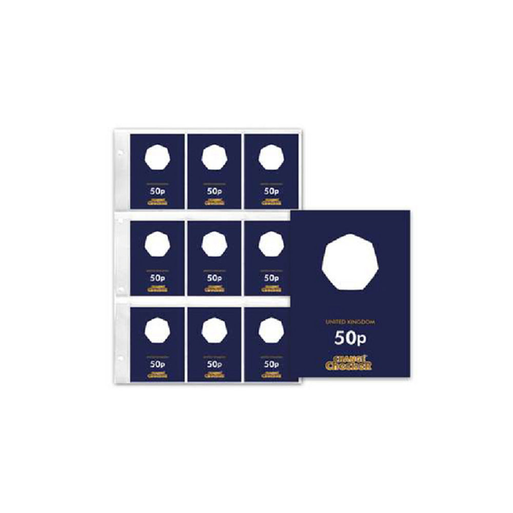 Change Checker Plus - 50p Collecting Page - 440T
